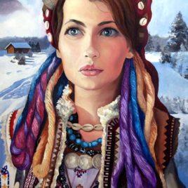 "T.Binovska ""Uliana""(print, poster)"