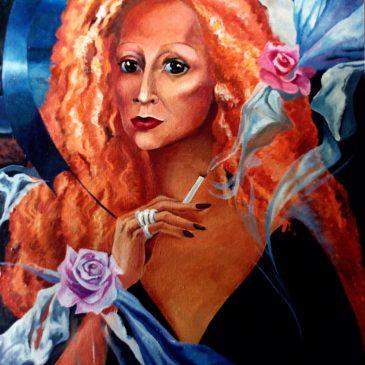 Моя живопись 90-х годов. My paintings from 90-s.