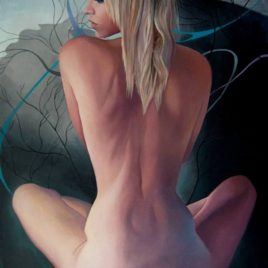 """Anna Vasilisa""(print, poster)"