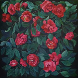 """Camellias, Lips and Berries"""