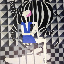 "Lera Fokina ""Zebra and Bear"""