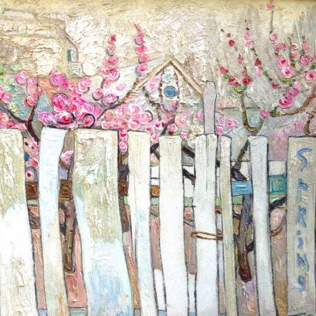 "Полина Зиновеева ""Весна"" холст/масло, 60х70 см, 2007"