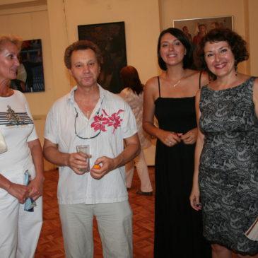 "Solo exhibition ""Ah, Odessa"" in Local History Museum, Odessa 2009"