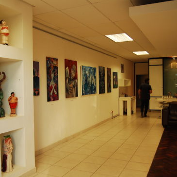 Solo Exhibition in Avital Lang Gallery, Cape Town, 2011