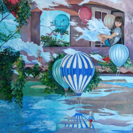 "Tatyana Binovska ""Where clouds are born"""
