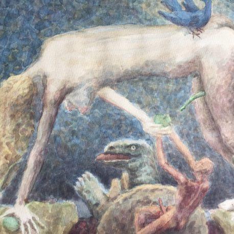 "Victor Pavlov ""Untitled"" 29х40, paper / watercolor 1993"