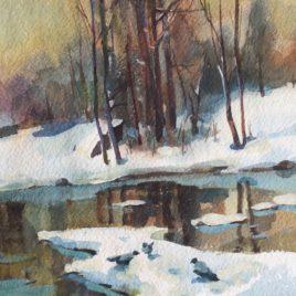 "Unknown ""Winter. Thaw"""