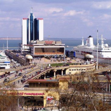Meeting with the head of Odessa Sea Port