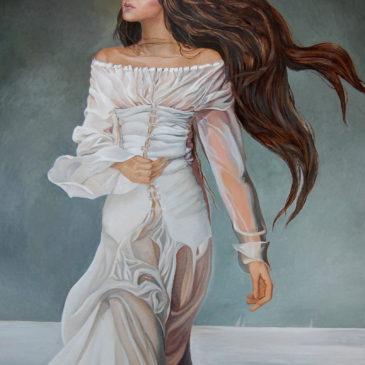 Portrait of the daughter of Rada Binovska.