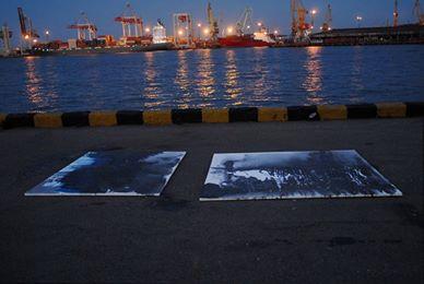 """Art project """"Sea- ocean"""" August, 17, 2008"""