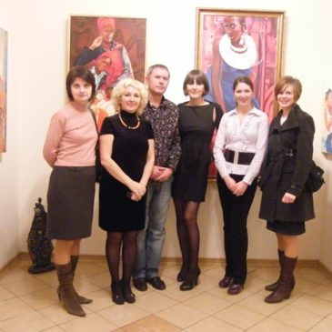 "Odessa Museum of Private Collections A.V.Bleschunova Exhibition of paintings by Tatiana Binovska ""Rainbow People"""