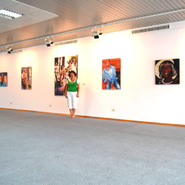 The final solo exhibition of Tatiana Binovskaya in the Maritimee Art Gallery of the Odessa Port.