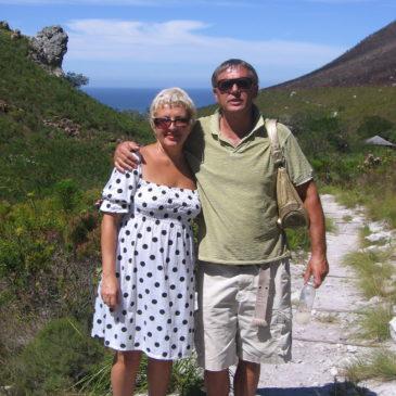 Radu & me. 2008. Cape Town.