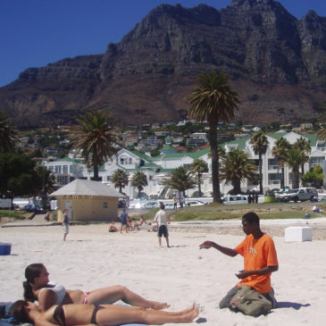 South Africa. Cape Town. Camps Bay Beach